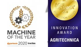 Machine of the year 2020 und Innovation Award Agritechnica